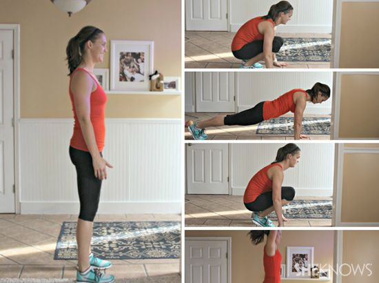 Nap-time workout routines