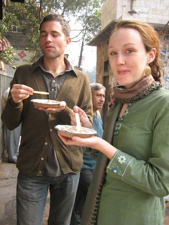 Enjoy Yummy food in Chandni Chowk in #Delhi.