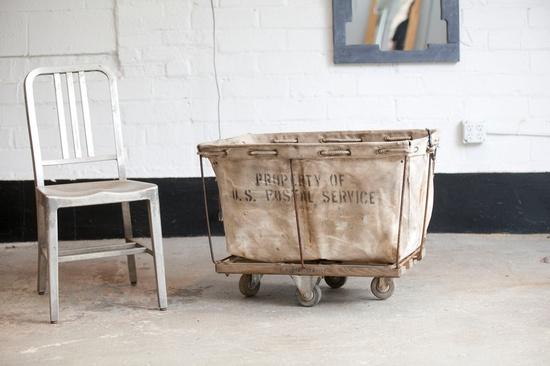 Vintage Post Office Cart. - love!