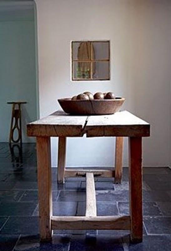 neutral with slate floor textures