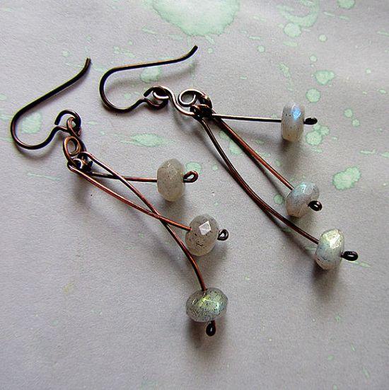 Very cool earrings!