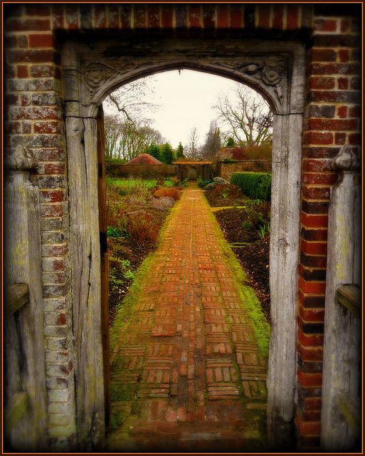 down the garden path...