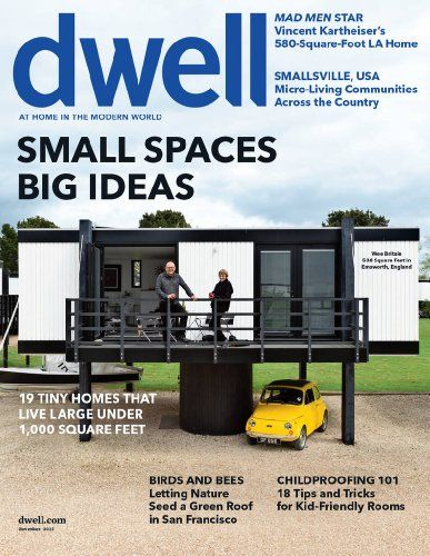 Dwell is the first and only magazine to explore both the interiors and the exteriors of modern home design in a stylish, yet accessible way. With focus on a new modernistic approach to home design that offers identity, creativity and harmony.