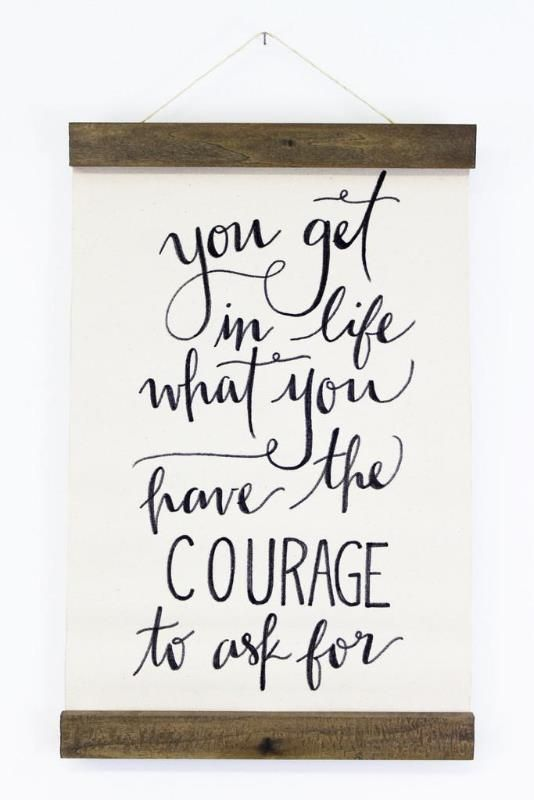 This motivational quote by the iconic Oprah Winfrey is celebrated in Jenny Highsmith's signature calligraphy style.
