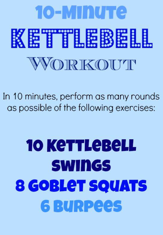 10-Minute, High-Intensity KettlebellWorkout