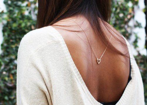 **Back necklace