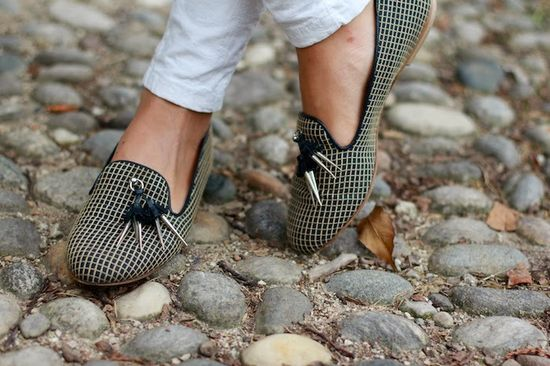 #fashion #shoes Corriere della moda: Lady Military