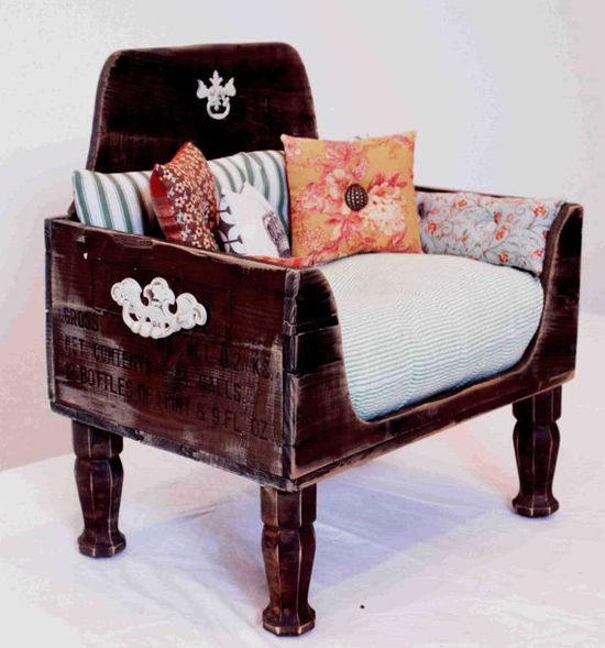 dog bed bed cat bed vintage shabby chic by designercraftgirl, $900.00