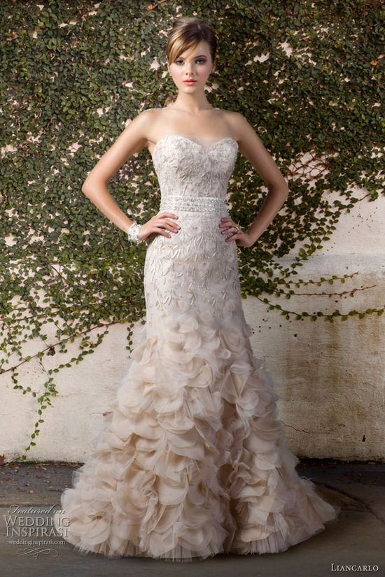 Liancarlo Wedding Dresses Fall 2012 Bridal Collection