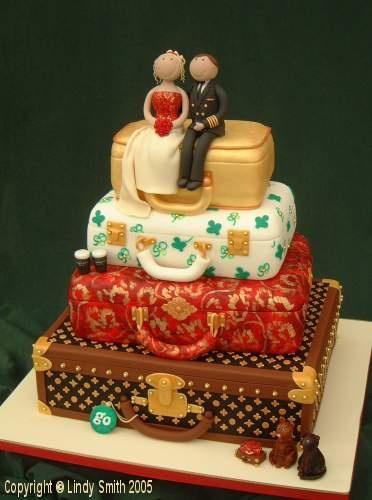 #KatieSheaDesign ?? ?  Traveling Cake