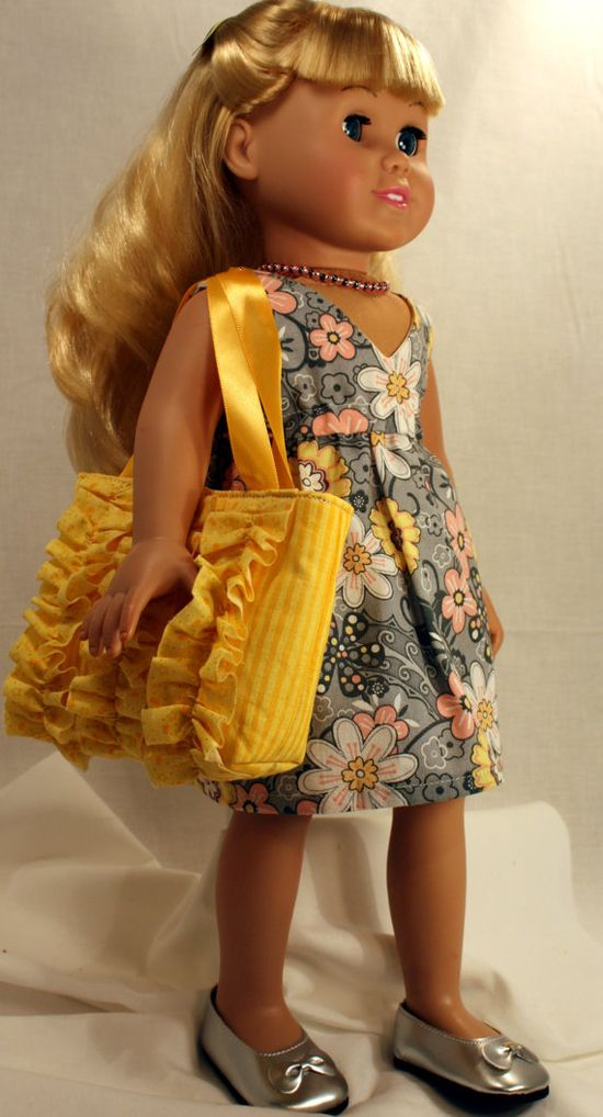 American Girl/ 18 Inch Doll Clothing  Little by AuroraandLuna, $25.00