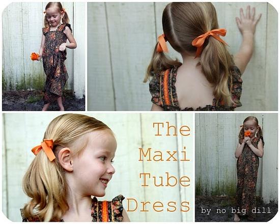 Maxi tube Dress #maxi #dress #tutorial