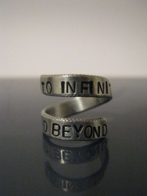 'to infinity and beyond' ring.