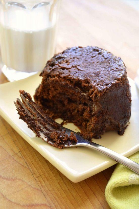 chocolate peanut butter mug cake? yes.