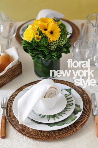 Fresh Flower Arrangement #2 by FLORAL NEW YORK, via Flickr