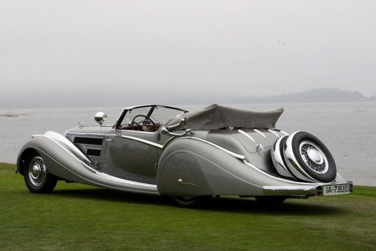 HORCH 853 VOLL & RUHRBECK SPORT CABRIOLET 1937
