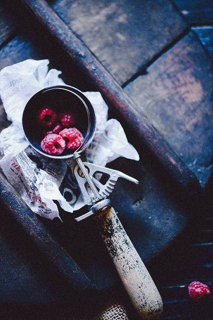 Raspberries by cajas666 on Flickr
