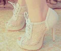 The softness of the lace and color.. The edge as a bootie... Rock star Glam!