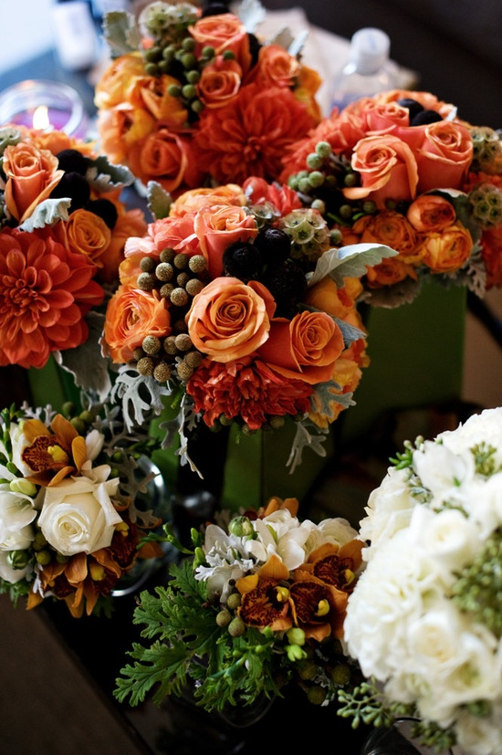 Rich fall florals ~ from greenwichfloral.net,  Photography by nextexitphotograp...