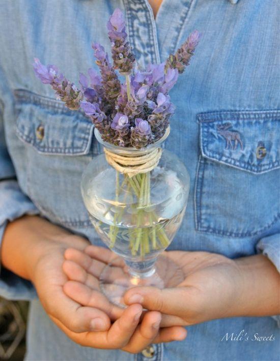 lavender flower arrangements by Mili