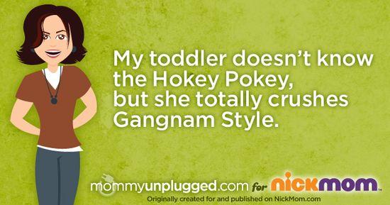 Toddler Gangnam Style