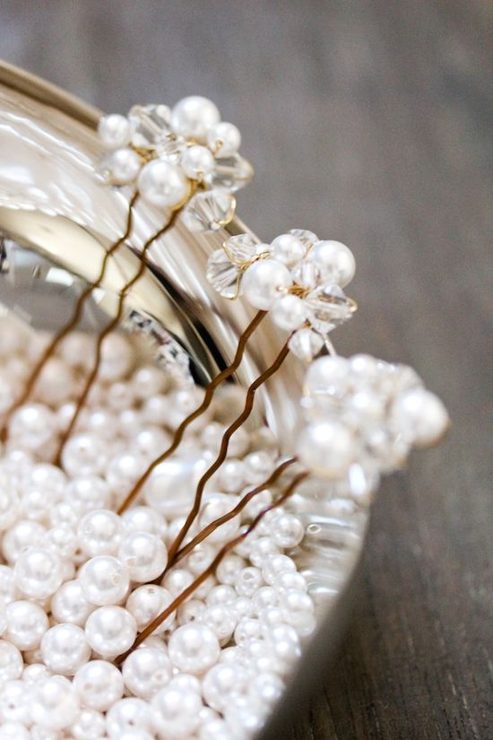 CARTER wedding hair accessories by @Emily Whitehouse Handmade