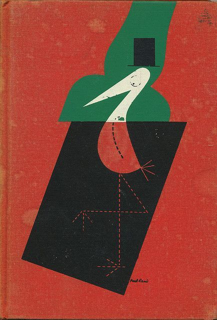 The Stork Club Bar Book cover by Paul Rand