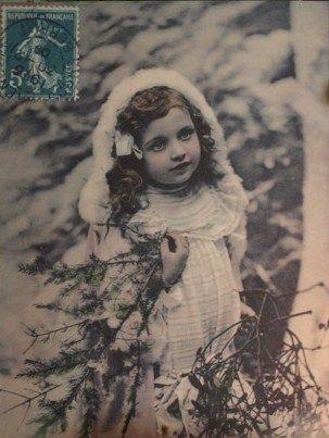 Vintage Christmas card!