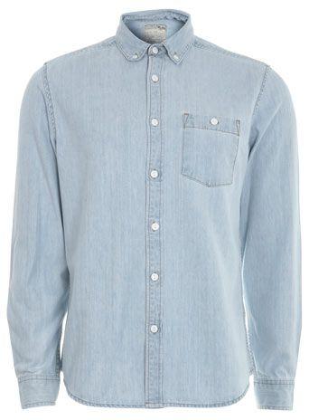 Light Denim Long Sleeve Shirt