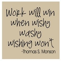 Work - Thomas S. Monson