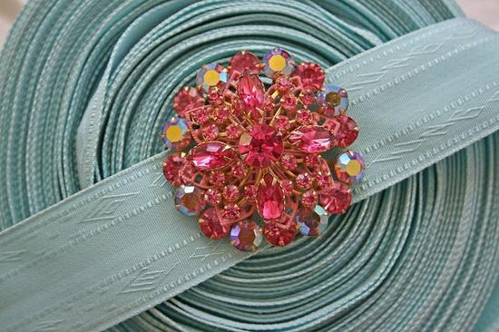 Vintage rhinestone pin.