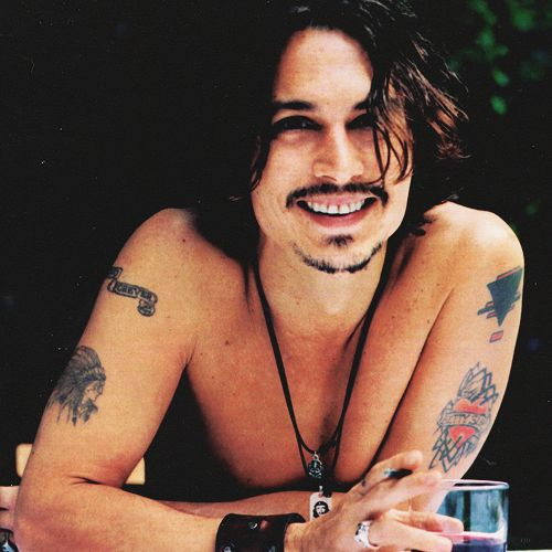 Johnny Depp sexy hot guys male celebs celebrities
