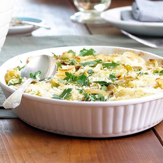 Potato-Goat-Cheese Gratin