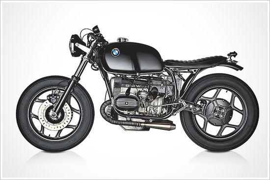 "Rudy Banny's '86 BMW R80RS - ""Brafé Racer"" - Pipeburn - Purveyors of Classic Motorcycles, Cafe Racers & Custom motorbikes"