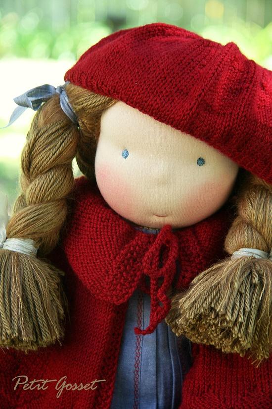Petit Gosset Handmade Doll 19 inch