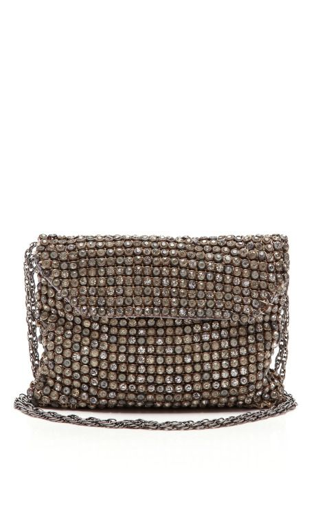 French Rhinestone Handbag by New York Vintage for Preorder on Moda Operandi