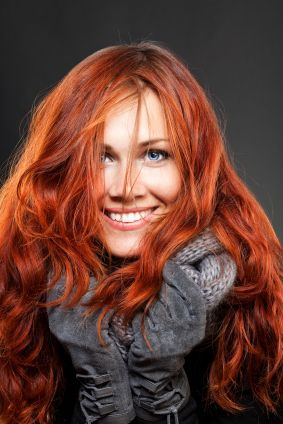 Love the hair color.