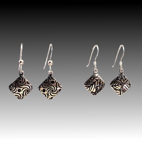 Handcrafted Art Jewelry, Hand-made silver jewelry