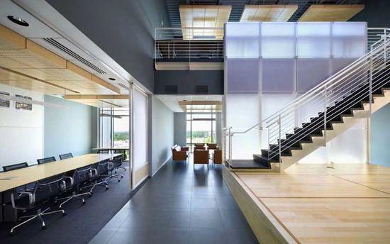 Perkins Will Office 2 Perkins + Will Interior Office Design
