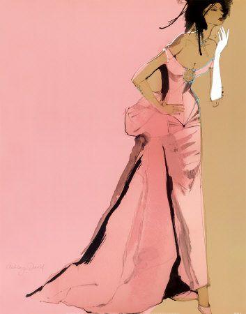 Fashion Illustration / David Ashley - one glove