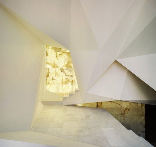 Pantheon Nube interiors by Clavel Arquitectos