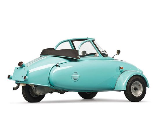 Microcar Jurisch Motoplan Prototype 1957 - 2 by Fine Cars, via Flickr