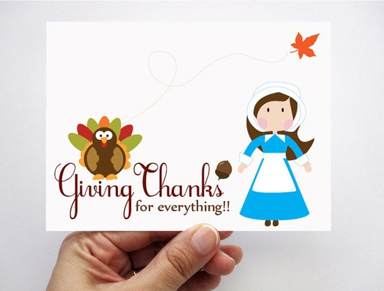 adorable Thanksgiving cards by Mariapalito  $3