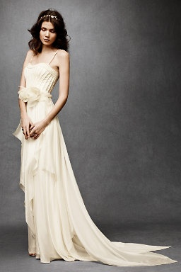 Amazing! Cascading Goddess Gown from BHLDN.