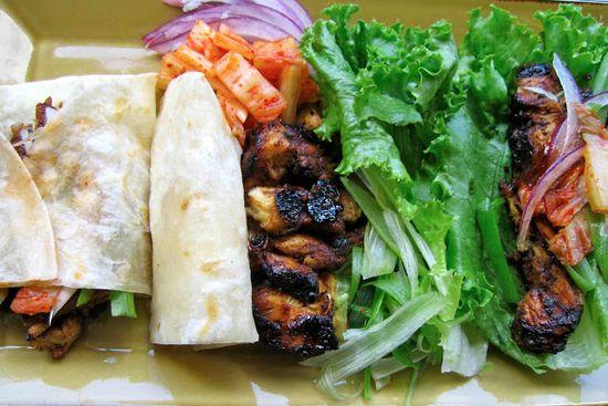 Korean Picnic Food