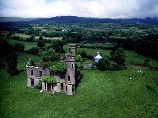 Castle Near Kilgarvan, Ireland