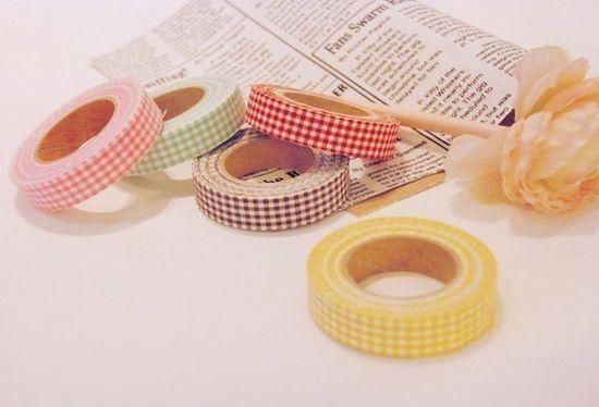 Gingham tape