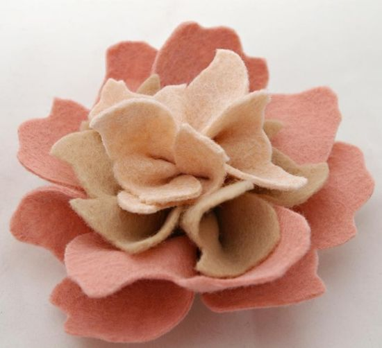 felt flower
