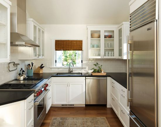 Small #kitchen  #interiors