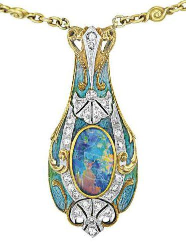 Tiffany & Co. 1900.